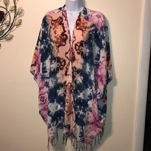 Cotton On Tie-Dyed Shaw Sz XS